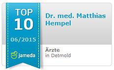 Jameda Top 10 Arzt